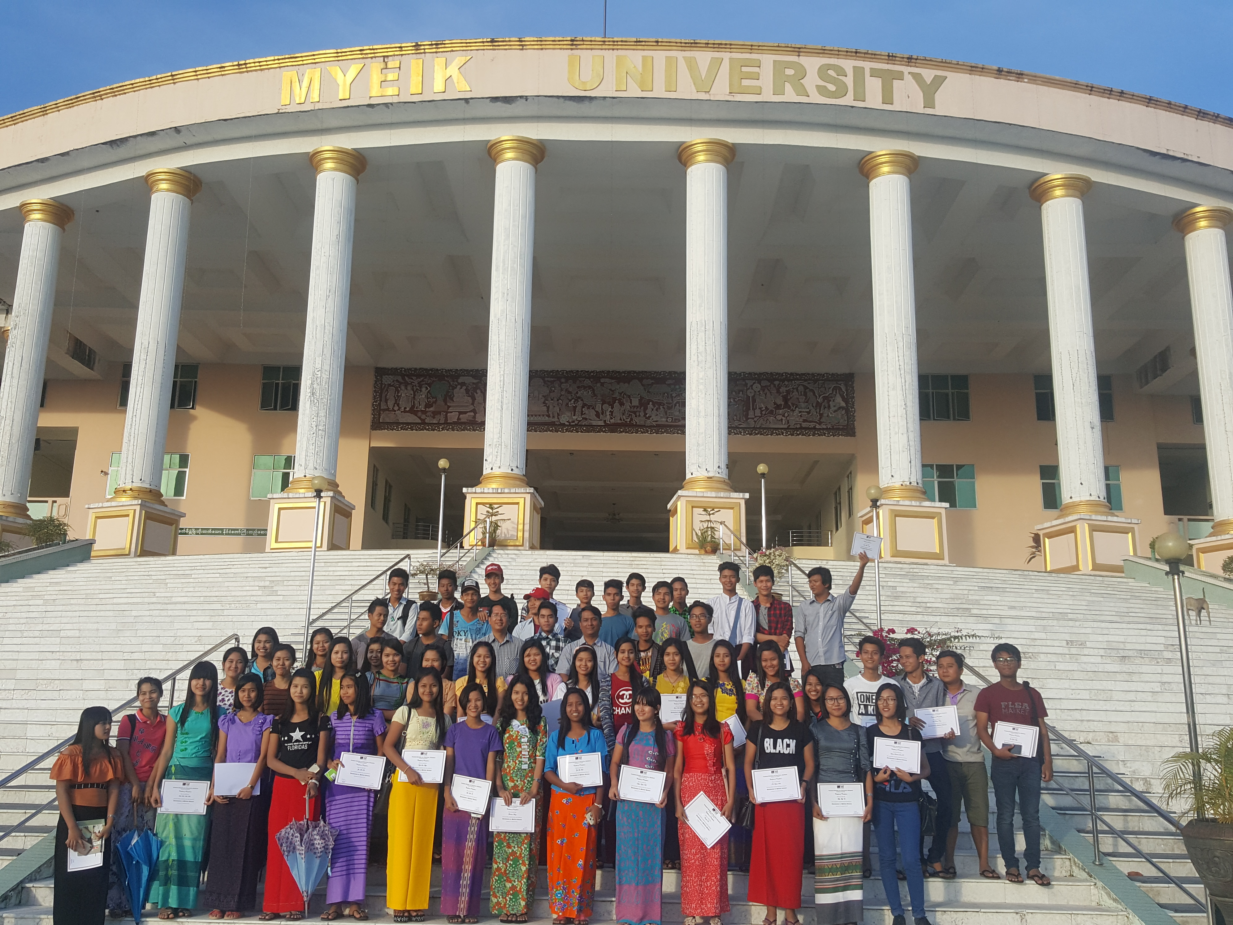 3-day basic political science training as an outreach program in Myeik University