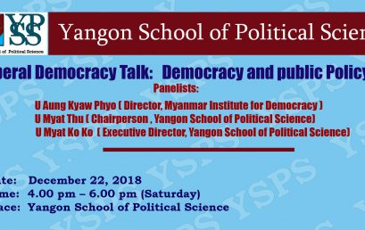 Liberal Democracy Talk (1)